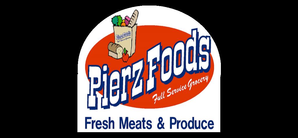A theme logo of Pierz Foods